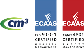 CM3 and ECAAS certification logos